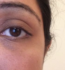 The magic of Artistry Youth Xtend Enriching eye cream in 4 weeks - Before